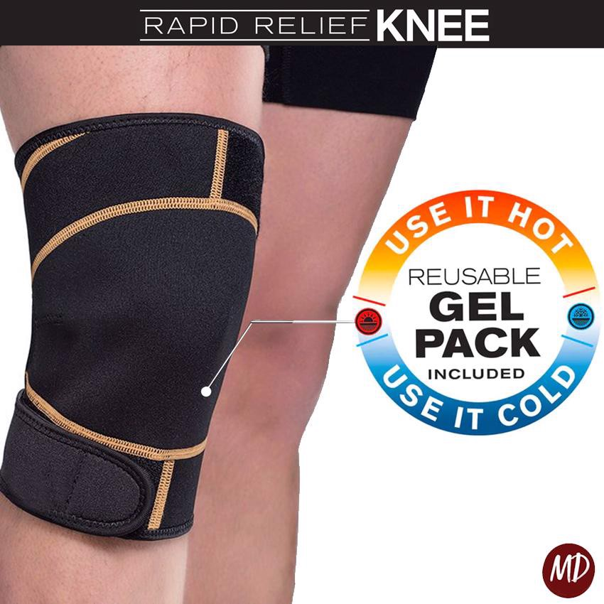 Hot/Cold Therapy Rapid Relief KNEE