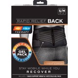 Hot/Cold Therapy Rapid Relief BACK