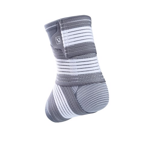 Basketball Gray Performance Advanced Ankle Support by LiveUP