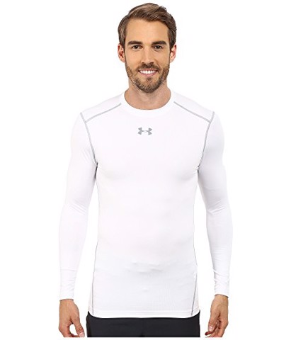 Under Armour White Compression Long Sleeve tee (FULL BOX)