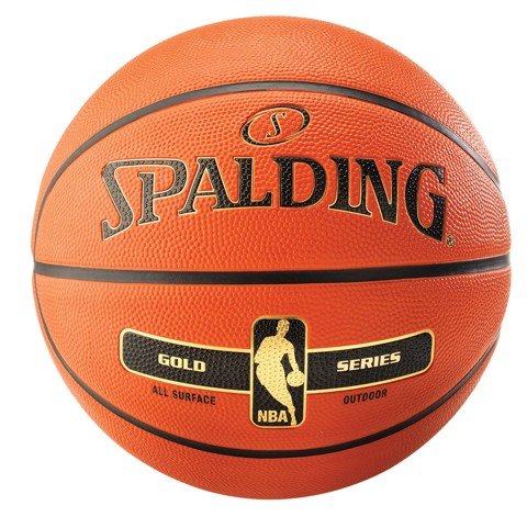 Bóng rổ Spalding NBA Gold Outdoor Cao Su Size 7
