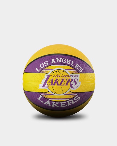 Bóng rổ Spalding Los Angeles Lakers Outdoor Size 7