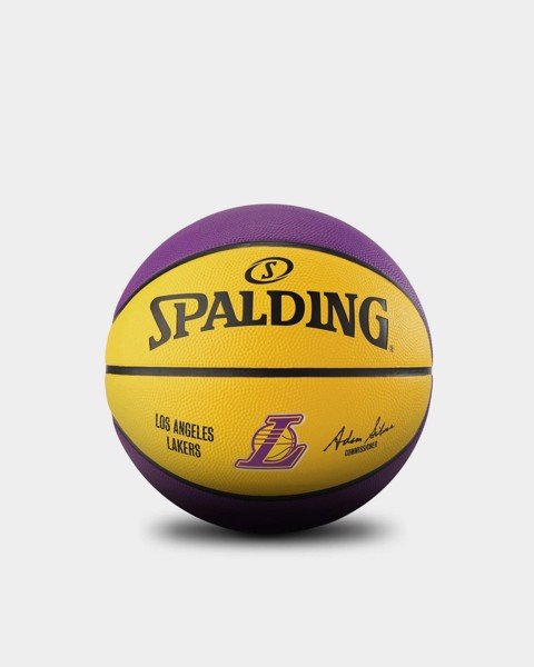 Spalding Los Angeles Lakers Outdoor Size 7