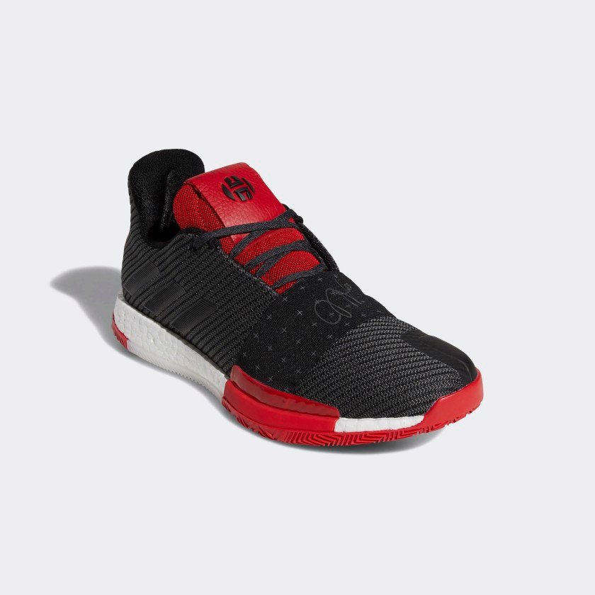 adidas Harden 3 (Core Black / Grey / Scarlet)