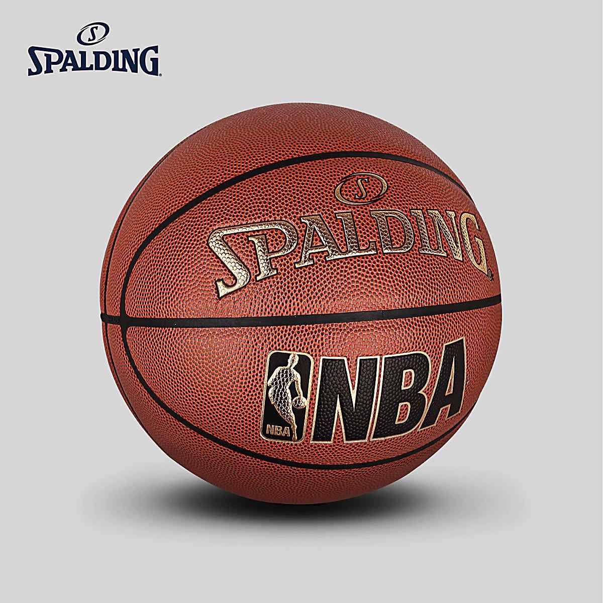 Bóng rổ Spalding Jr. NBA Gold Indoor/Outdoor Size 7
