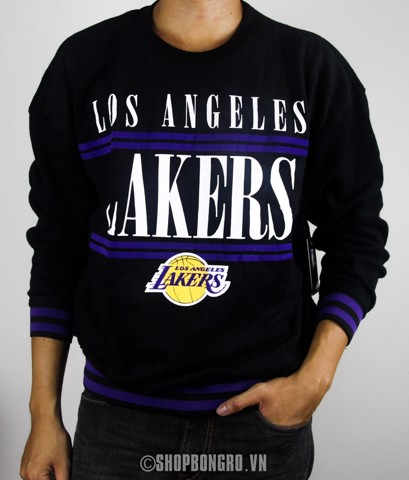Los Angeles Lakers Black Sweater By UNK NBA