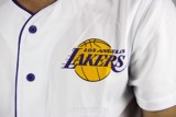 Los Angeles Lakers White Baseball Jersey by F21 (Real/New)