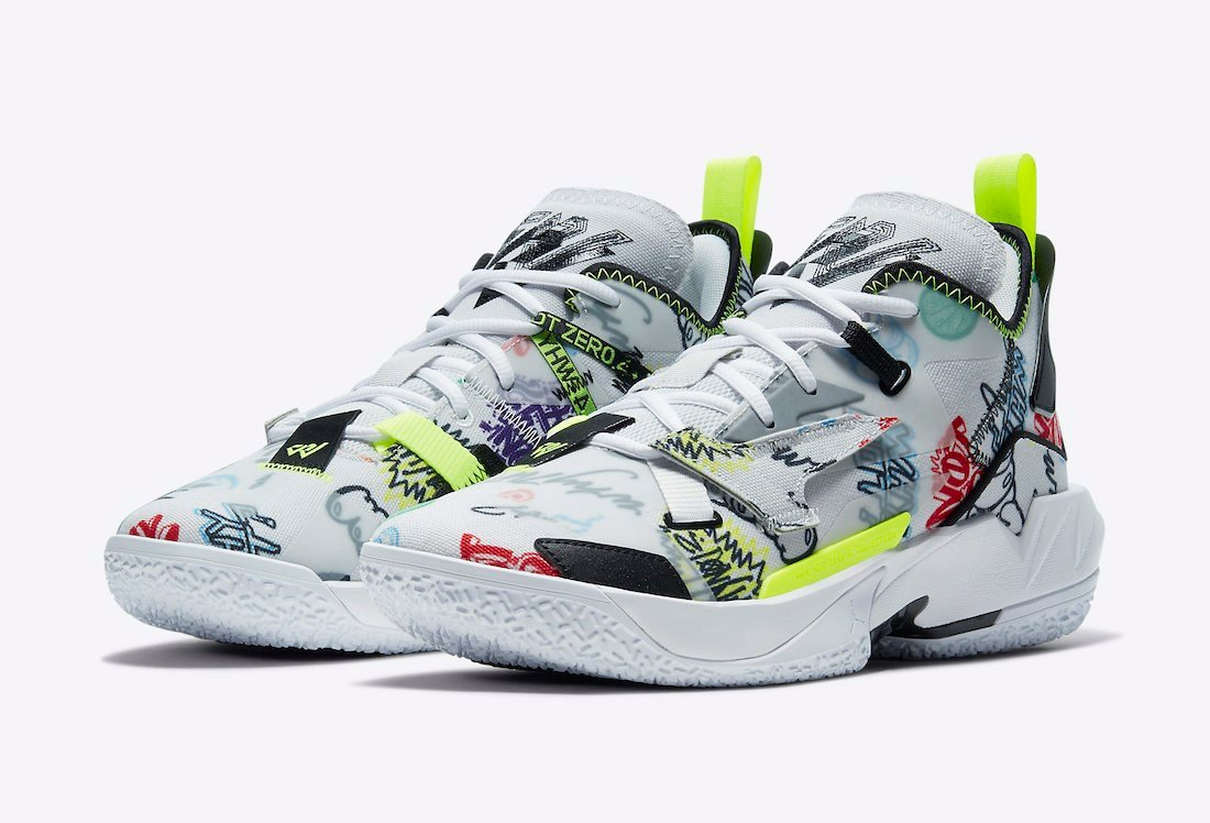 Jordan Why Not Zer0.4 Graffiti