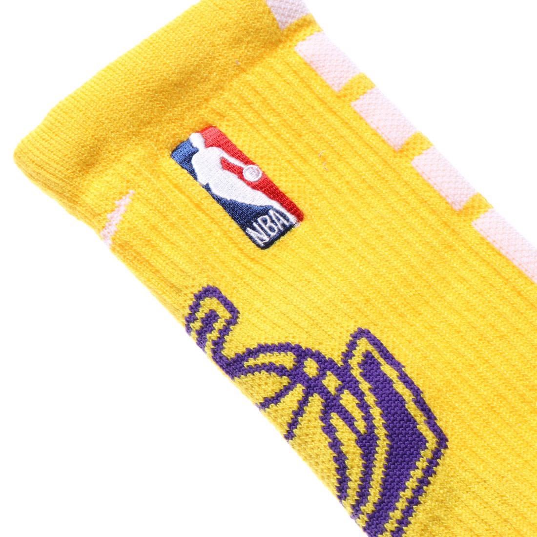 Los Angeles Lakers Elite Crew Socks (Size L 42-46 EUR)