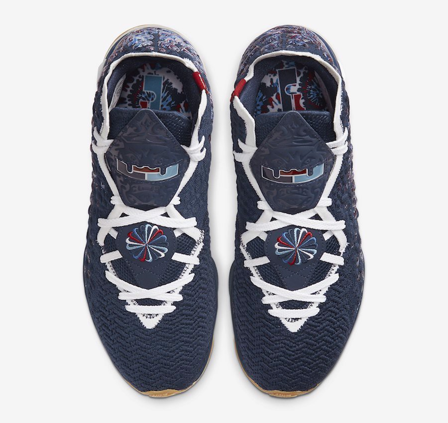 Lebron 17 Collegiate Navy