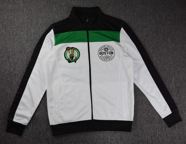 Boston Celtics Embroidered Full-Zip Jackets By UNK NBA