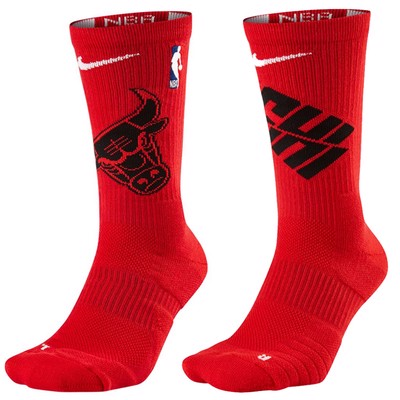 Chicago Bulls Elite Crew Socks (Size L 42-46 EUR)