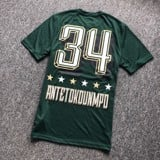 UNK NBA Giannis #34 Bucks Tshirt