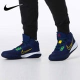 Nike Kyrie Flytrap 4 Navy Green Yellow