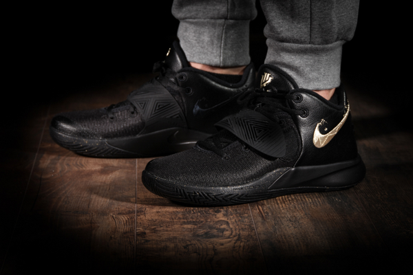 Nike Kyrie Flytrap 3 Black Metallic Gold
