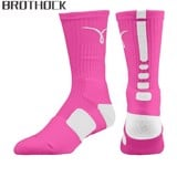 Brothock® Hyper Elite Cushioned Crew Socks (Size L 8-12US)