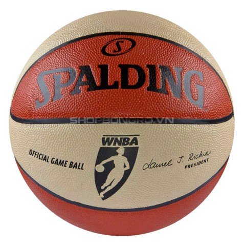 Bóng rổ Spalding WNBA Game Ball Indoor/Outdoor