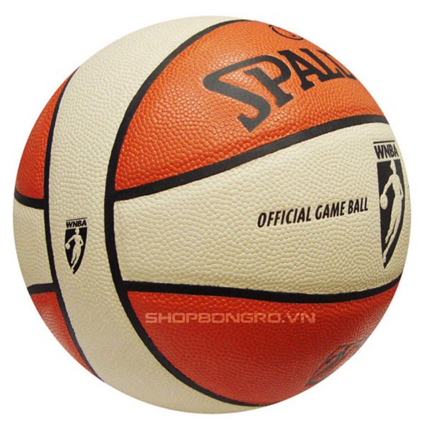 Bóng rổ Spalding WNBA Game Ball Indoor/Outdoor Da Size 6