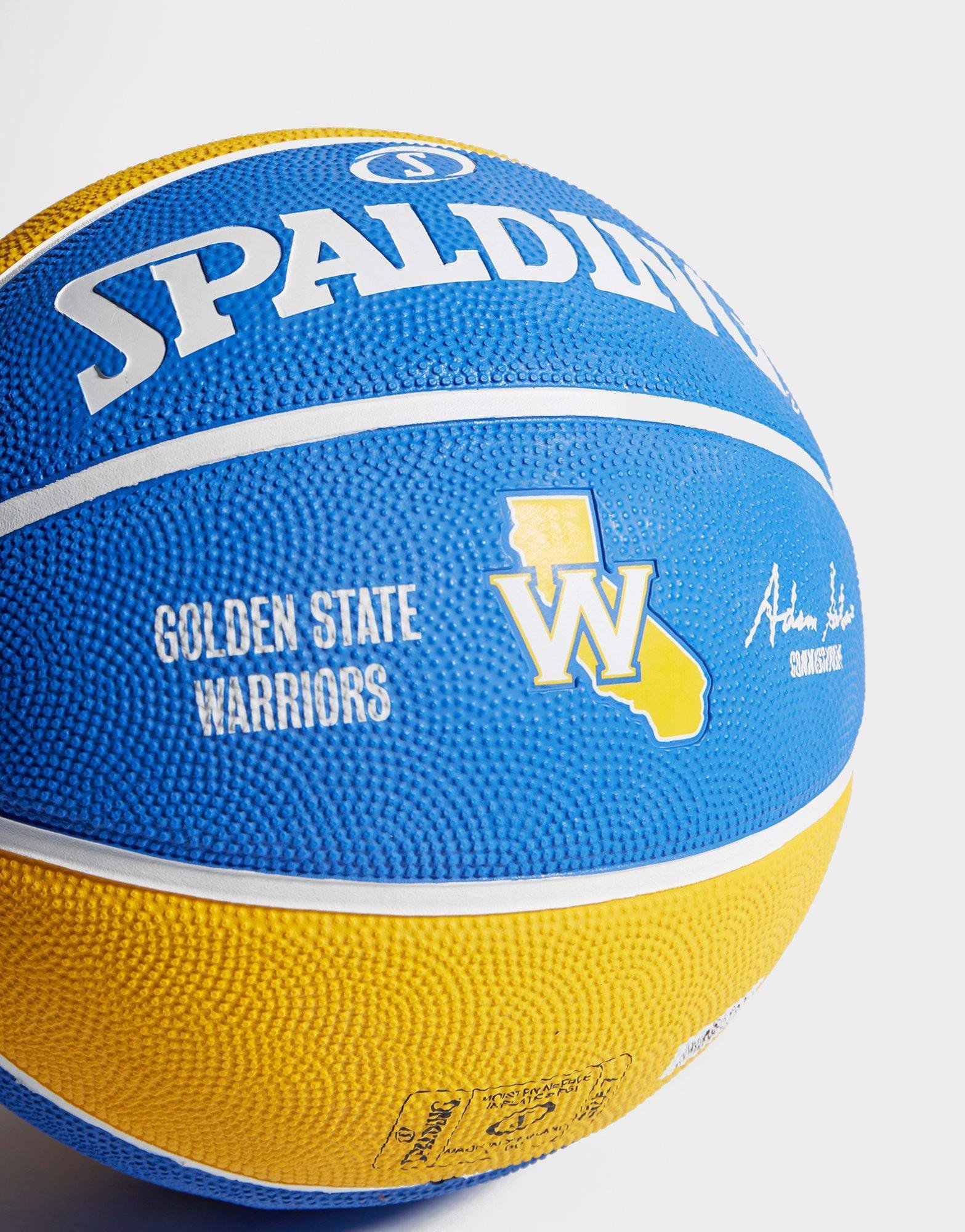 Spalding Golden State Warriors Outdoor Size 7