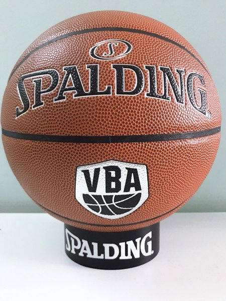 Spalding VBA Silver Indoor/Outdoor Da Size 7