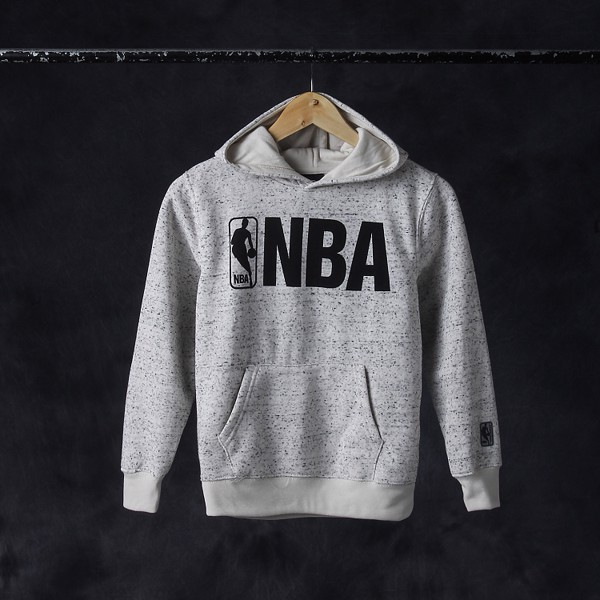 NBA White/Grey Hoodie by UNK NBA