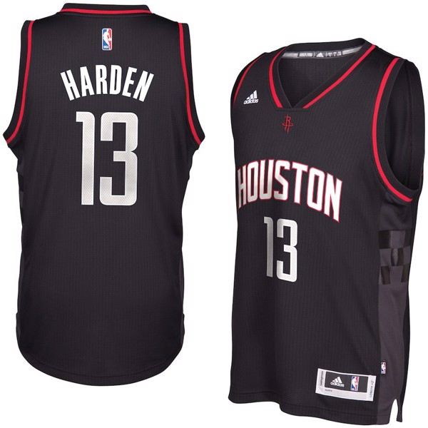 James Harden #13 Houston Rockets Black Swingman Jersey by adidas