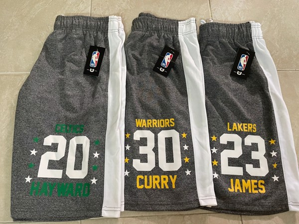UNK NBA Lebron / Curry / Hayward Training Shorts