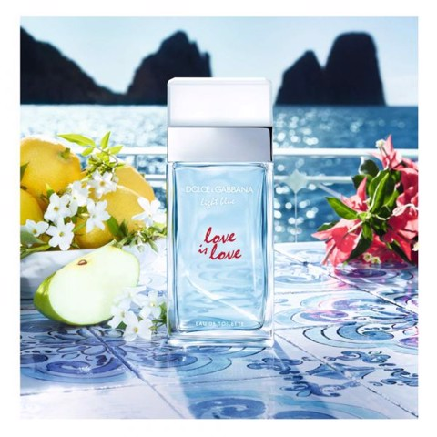 NƯỚC HOA NỮ EAU DE TOILETTE DOLCE & GABBANA LIGHT BLUE LOVE IS LOVE EDT