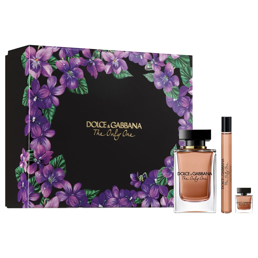 SET NƯỚC HOA NỮ EAU DE PARFUM DOLCE&GABBANA THE ONLY ONE 100/10/7.5ML