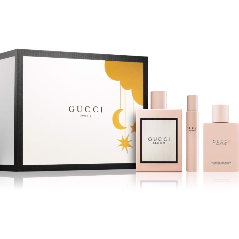SET NƯỚC HOA NỮ EAU DE PARFUM GUCCI BEAUTY BLOOM EDP 100ML/100ML/7.4ML