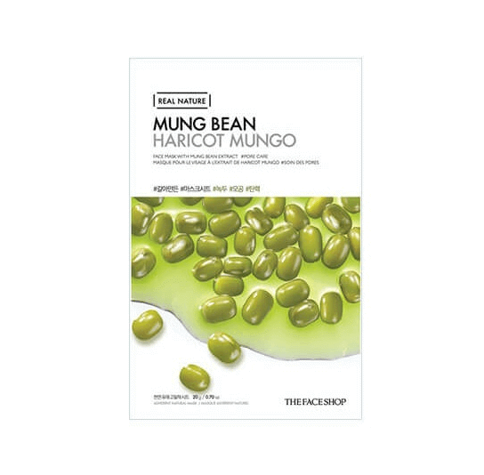 MẶT NẠ THE FACE SHOP REAL NATURE MUNG BEAN FACE MASK