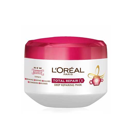 KEM Ủ PHỤC HỒI TÓC LOREAL PARIS ELSEVE TOTAL REPAIR 5 REPAIRING MASK - 200ML