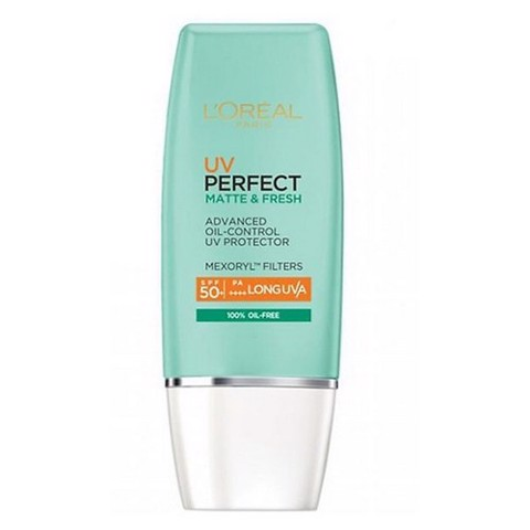 KEM CHỐNG NẮNG KIỀM DẦU LOREAL PARIS UV PERFECT MATTE AND FRESH SPF50 PA++++ 30ML