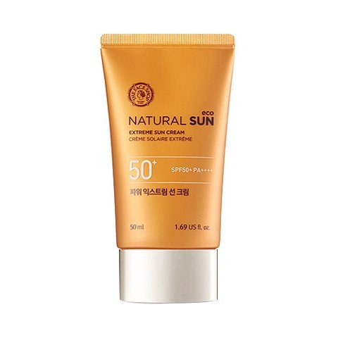 KEM CHỐNG NẮNG THE FACE SHOP NATURAL SUN ECO EXTREME CHỐNG TIA UV SPF50+ PA+++ 50ML