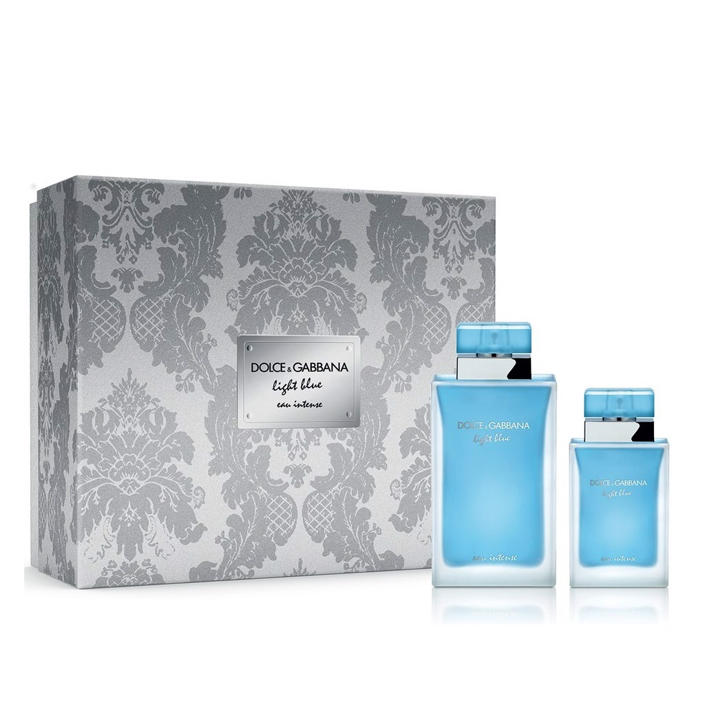NƯỚC HOA NỮ EAU DE TOILETTE DOLCE & GABBANA LIGHT BLUE 19 DUO SET 100ML/25ML