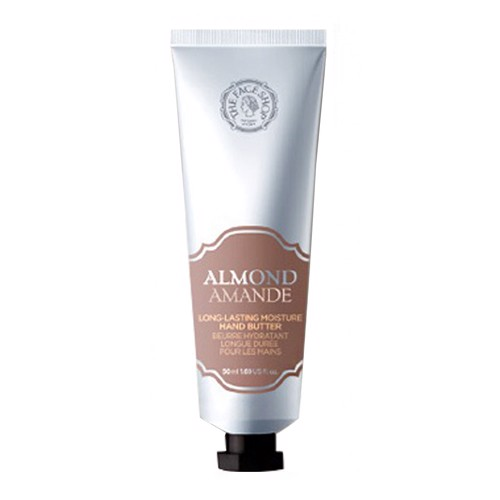 KEM DƯỠNG TAY THE FACE SHOP CUNG CẤP ẨM ALMOND LONG-LASTING MOISTURE HAND BUTTER 50ML