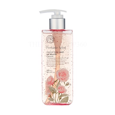 GEL TẮM THE FACE SHOP PERFUME SEED NỤ TẦM XUÂN 300ML