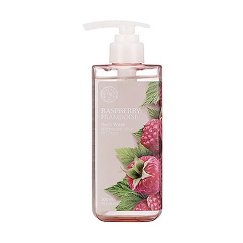 GEL TẮM THE FACE SHOP CHỐNG LÃO HÓA RASPBERRY BODY WASH 300ML