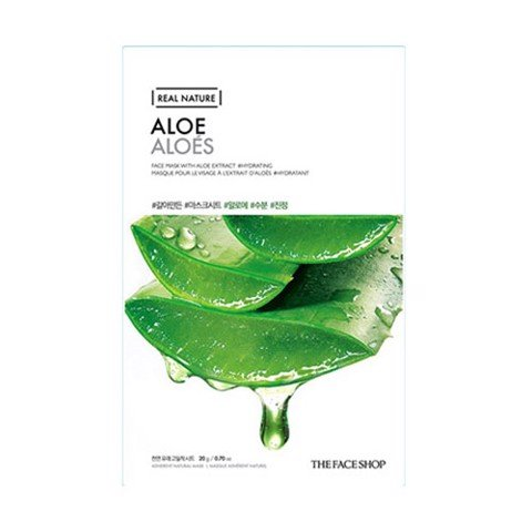 MẶT NẠ THE FACE SHOP REAL NATURE ALOE  FACE MASK