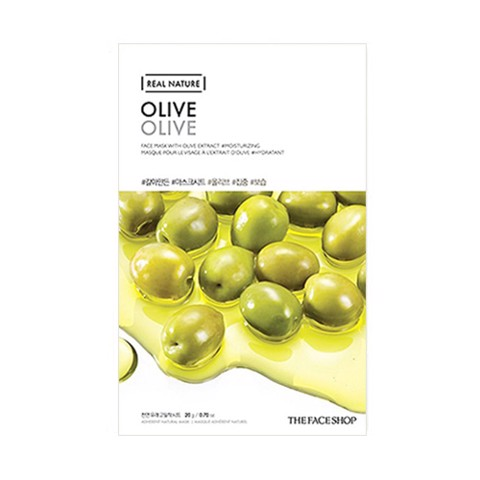 MẶT NẠ THE FACE SHOP REAL NATURE OLIVE FACE MASK