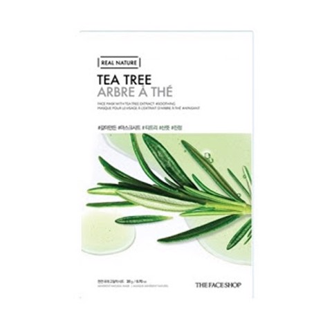 MẶT NẠ THE FACE SHOP REAL NATURE TEA TREE  FACE MASK