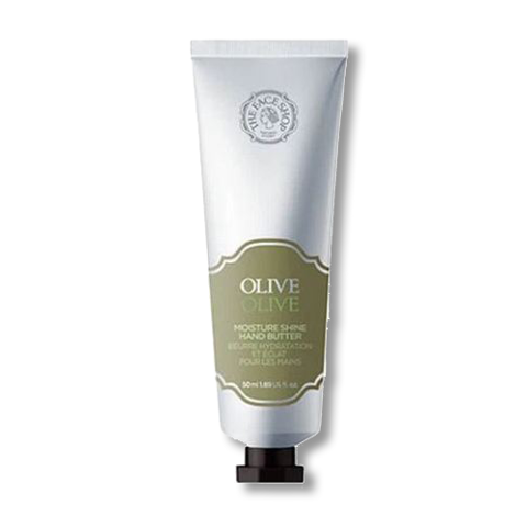 KEM DƯỠNG TAY THE FACE SHOP CUNG CẤP ẨM OLIVE MOISTURE SHINE HAND BUTTER 50ML