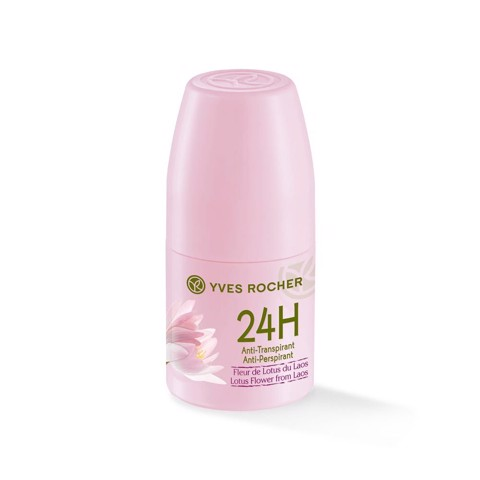 LĂN KHỬ MÙI 24H YVES ROCHER ANTI-PERSPIRANT LOTUS FLOWER FROM LAOS 50ML