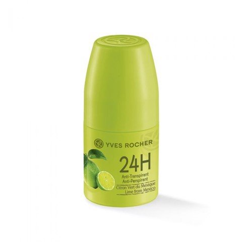LĂN KHỬ MÙI YVES ROCHER 24H ANTI PERSPIRANT LIME FROM MEXICO 50ML
