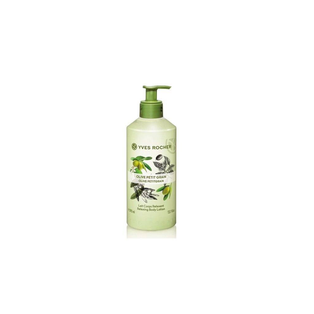 DƯỠNG THỂ YVES ROCHER OLIVE PETITGRAIN RELAXING BODY LOTION 390ML