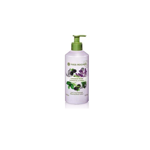 DƯỠNG THỂ YVES ROCHER LAVANDIN BLACKBERRY RELAXING BODY LOTION 390ML