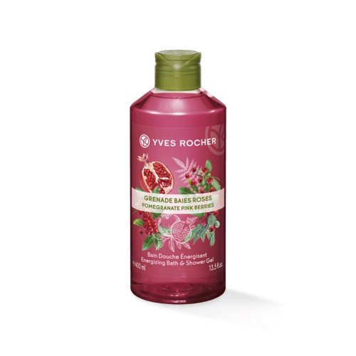 GEL TẮM YVES ROCHER POMEGRANATE PINK BERRIES BATH AND SHOWER GEL 400ML