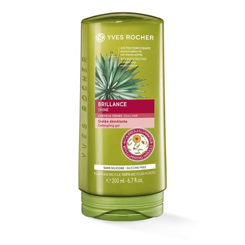 DẦU XẢ BÓNG TÓC YVES ROCHER SHINE DETANGLING GEL CONDITIONER 200ML