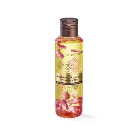DẦU DƯỠNG THỂ YVES ROCHER ARGAN AND ROSE INFUSED BODY OIL 150ML