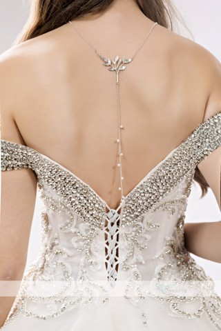 Dây chuyền Back Chain Necklace Wedding BCNW MS15